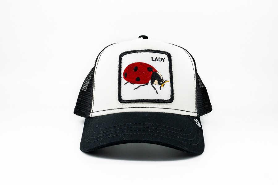 Goorin Bros - Goorin Bros Lady Bug (Uğur Böceği Figürlü) Şapka
