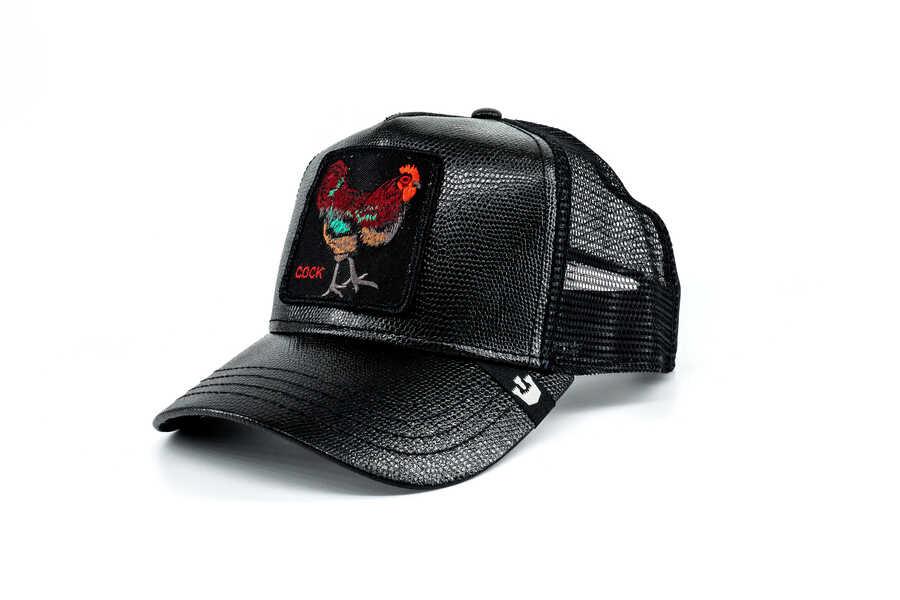 Goorin Bros - Goorin Bros Big Rooster (Horoz) Siyah Şapka (1)