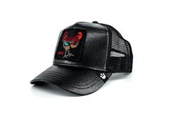 Goorin Bros Big Rooster (Horoz) Siyah Şapka - Thumbnail