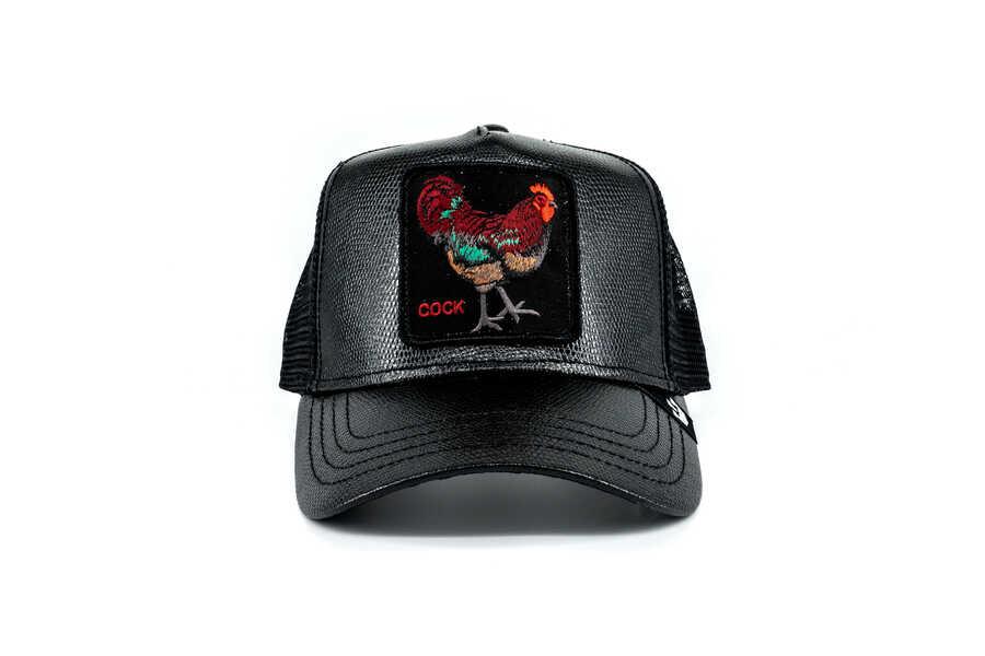 Goorin Bros - Goorin Bros Big Rooster (Horoz) Siyah Şapka