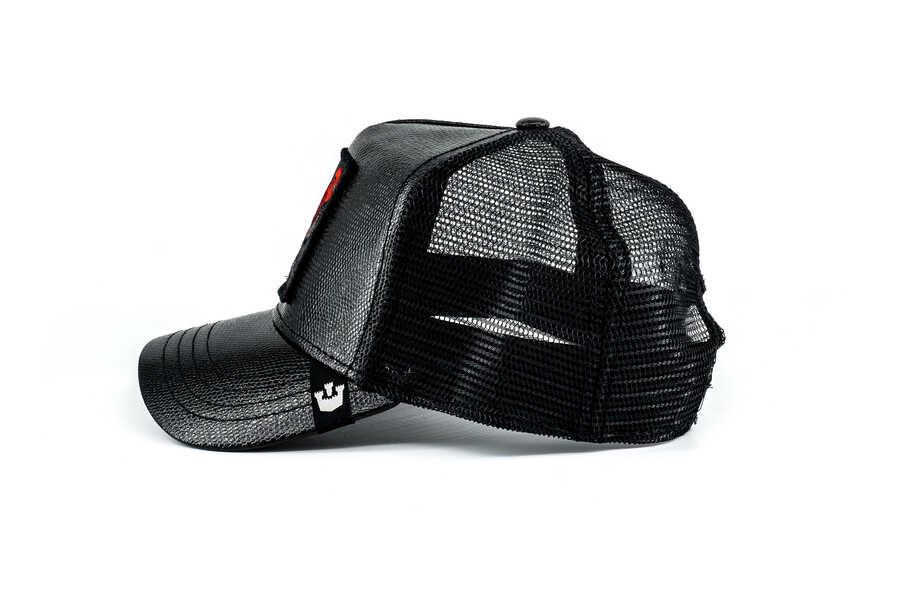 Goorin Bros Big Rooster (Horoz) Siyah Şapka