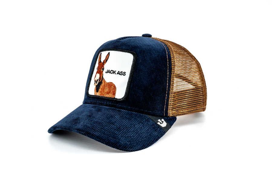 Goorin Bros - Goorin Bros Hee Haww (Eşek Figür) Lacivert Şapka (1)