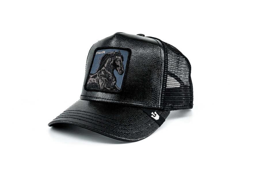 Goorin Bros - Goorin Bros Black Horse (Siyah At Figürlü) Şapka (1)