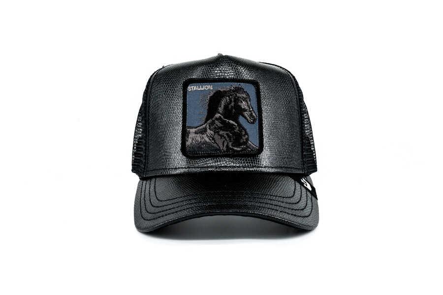 Goorin Bros - Goorin Bros Black Horse (Siyah At Figürlü) Şapka