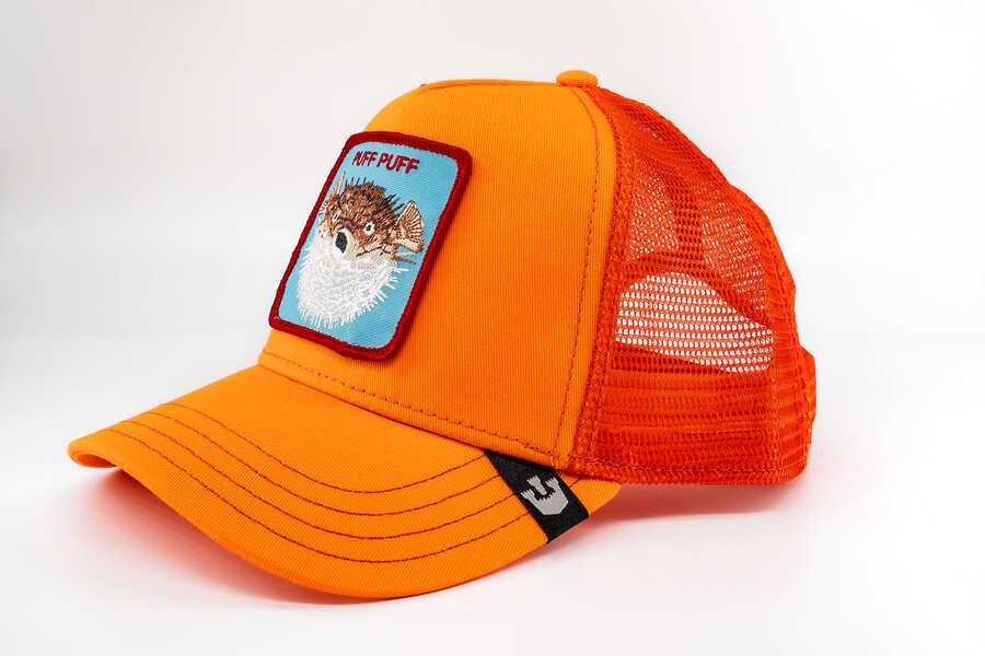Goorin Bros - Goorin Bros Puff (Balon Balığı) Turuncu Şapka (1)