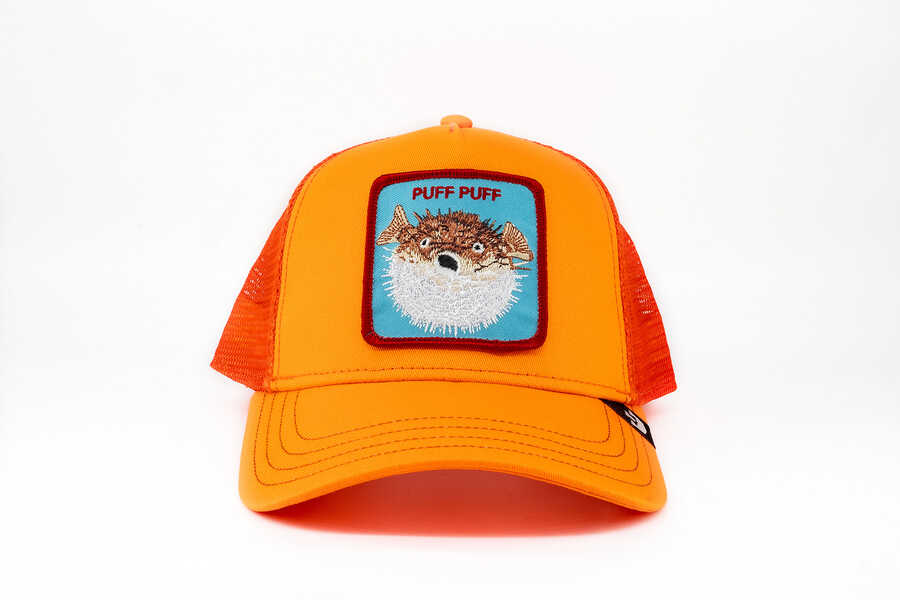 Goorin Bros - Goorin Bros Puff (Balon Balığı) Turuncu Şapka