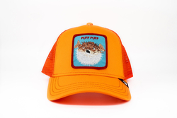 Goorin Bros Puff (Balon Balığı) Turuncu Şapka - Thumbnail
