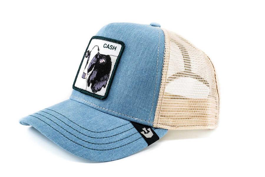 Goorin Bros - Goorin Bros Cash Cow (İnek Figürlü) Mavi Şapka (1)