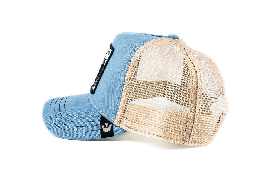 Goorin Bros Cash Cow (İnek Figürlü) Mavi Şapka