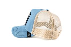 Goorin Bros Cash Cow (İnek Figürlü) Mavi Şapka - Thumbnail