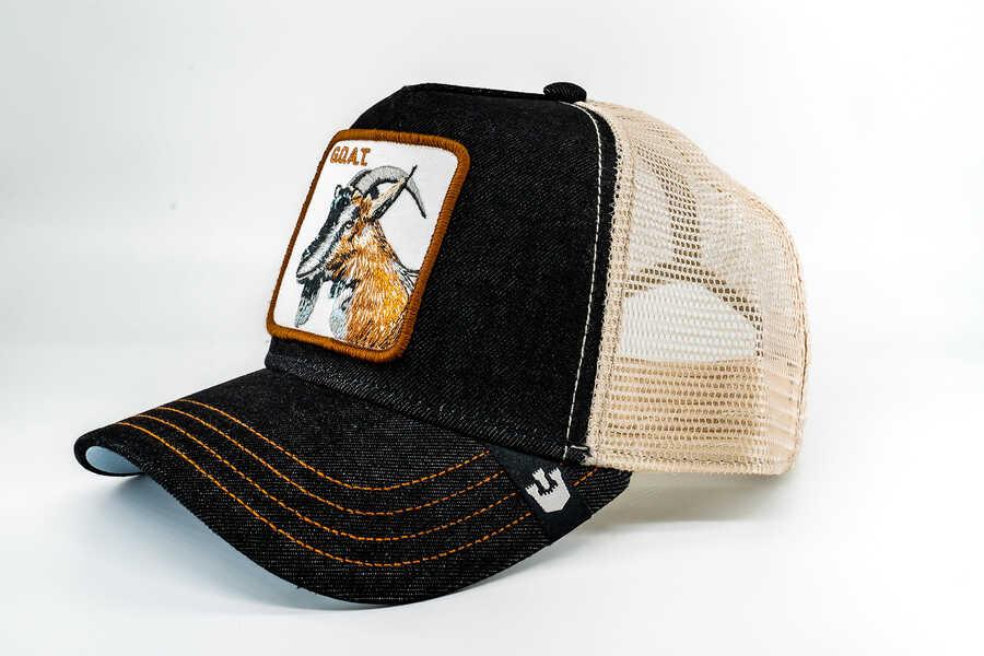Goorin Bros - Goorin Bros G.O.A.T (Keçi Figürlü) Siyah Şapka (1)