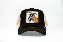Goorin Bros - Goorin Bros G.O.A.T (Keçi Figürlü) Siyah Şapka (Thumbnail - )