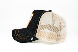 Goorin Bros G.O.A.T (Keçi Figürlü) Siyah Şapka - Thumbnail