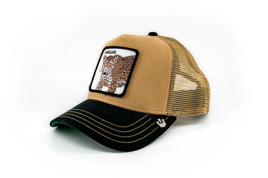 Goorin Bros - Goorin Bros Jaguar Figürlü Kahverengi Şapka (1)