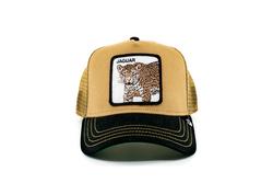 Goorin Bros - Goorin Bros Jaguar Figürlü Kahverengi Şapka (Thumbnail - )