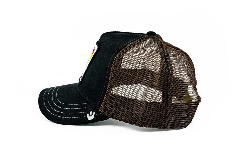 Goorin Bros Perico (Papağan Figürlü) Siyah Şapka