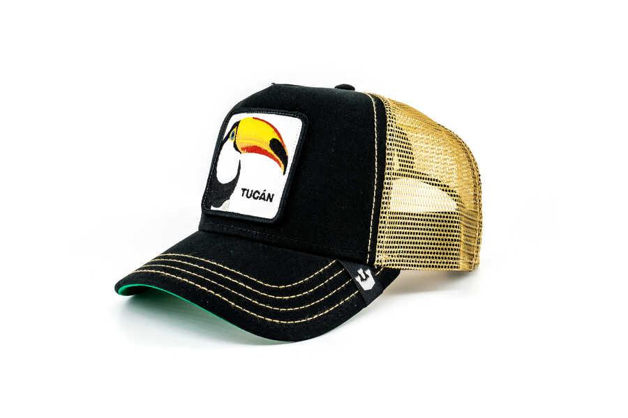 Goorin Bros Tucan Figürlü Siyah Şapka