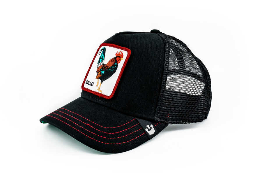 Goorin Bros - Goorin Bros Grande Gallo (Horoz) Siyah Şapka (1)