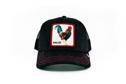 Goorin Bros - Goorin Bros Grande Gallo (Horoz) Siyah Şapka (Thumbnail - )