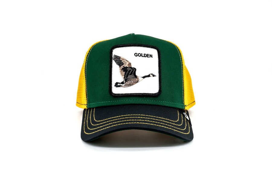 Goorin Bros - Goorin Bros Golden Goose (Ördek Figürlü) Şapka