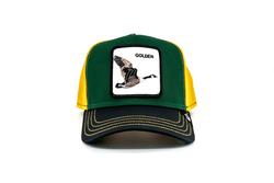 Goorin Bros - Goorin Bros Golden Goose (Ördek Figürlü) Şapka (Thumbnail - )