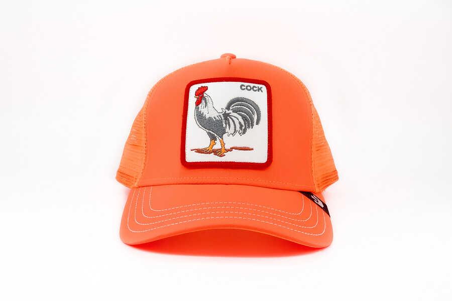 Goorin Bros - Goorin Bros Hot Tamale (Horoz) Turuncu Şapka