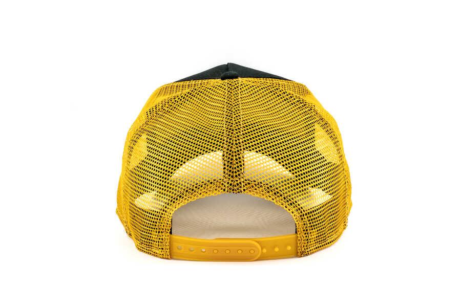 Goorin Bros Party Animal Sarı Siyah Şapka