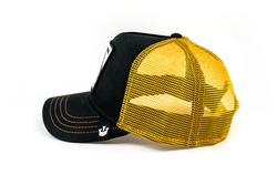 Goorin Bros Party Animal Sarı Siyah Şapka - Thumbnail
