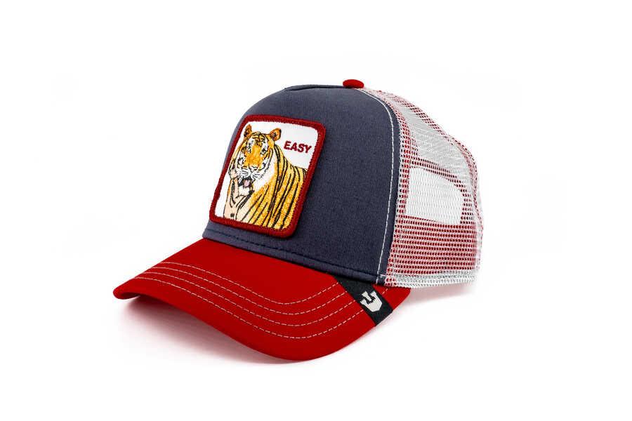 Goorin Bros - Goorin Bros Easy Tiger (Kaplan) Lacivert Şapka (1)