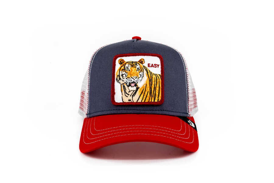 Goorin Bros - Goorin Bros Easy Tiger (Kaplan) Lacivert Şapka