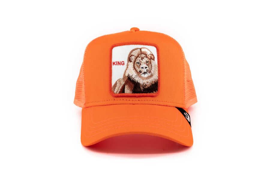 Goorin Bros - Goorin Bros Strong King (Aslan Figürlü) Şapka