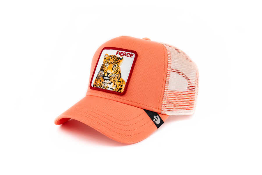 Goorin Bros - Goorin Bros Fierce Tiger (Kaplan) Pembe Şapka (1)