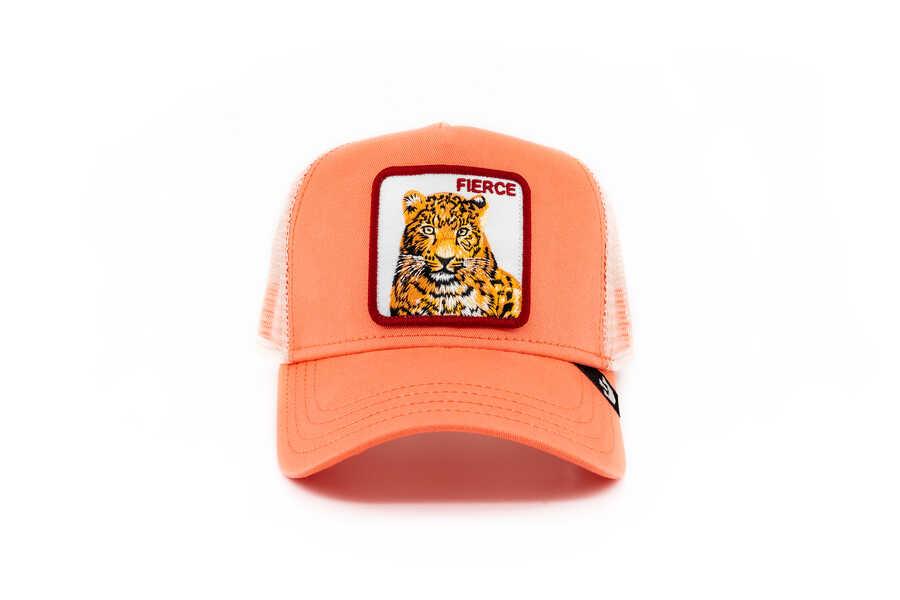 Goorin Bros - Goorin Bros Fierce Tiger (Kaplan) Pembe Şapka