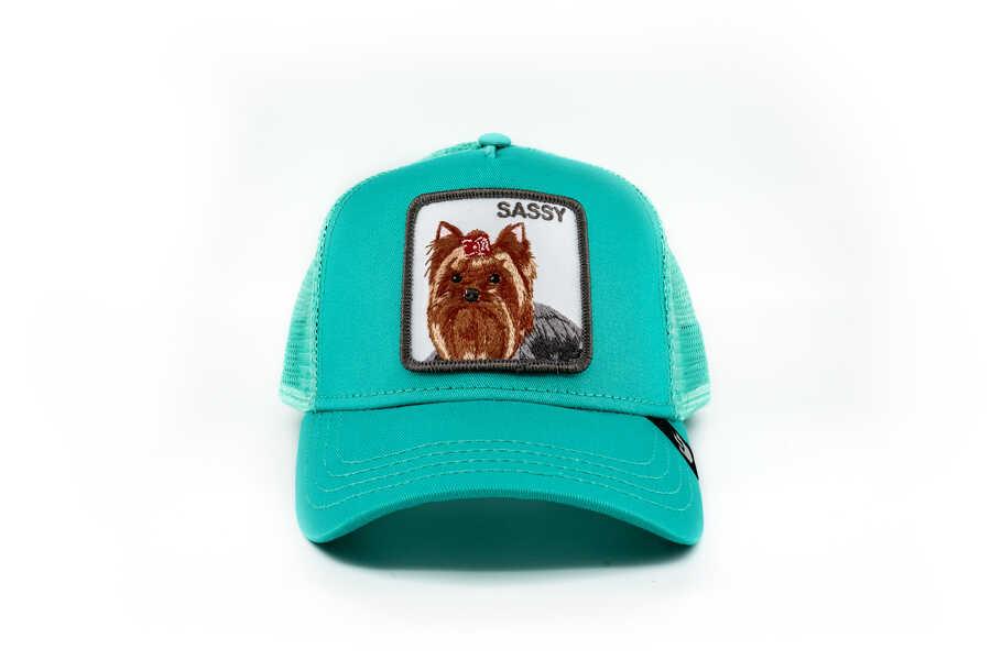 Goorin Bros - Goorin Bros Sassy Lady Turkuaz Şapka