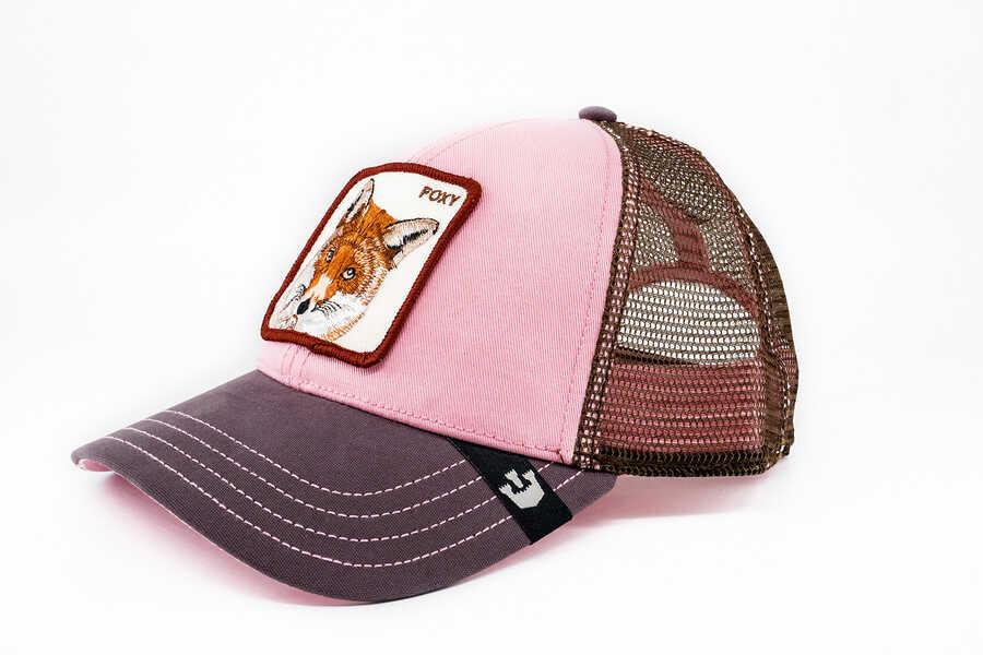 Goorin Bros - Goorin Bros Foxy Baby (Tilki Figürlü) Pembe Şapka (1)