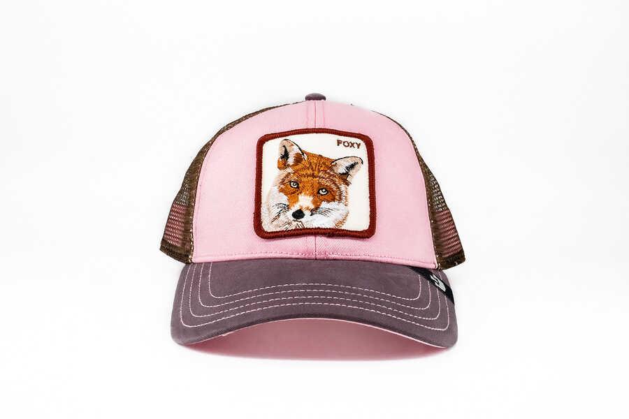 Goorin Bros - Goorin Bros Foxy Baby (Tilki Figürlü) Pembe Şapka
