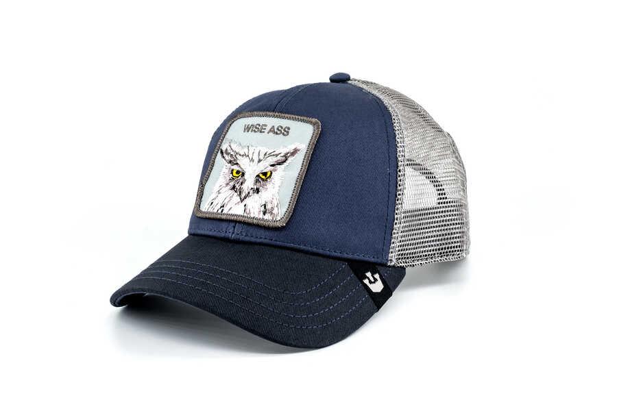 Goorin Bros - Goorin Bros X The Owl (Baykuş) Lacivert Şapka (1)