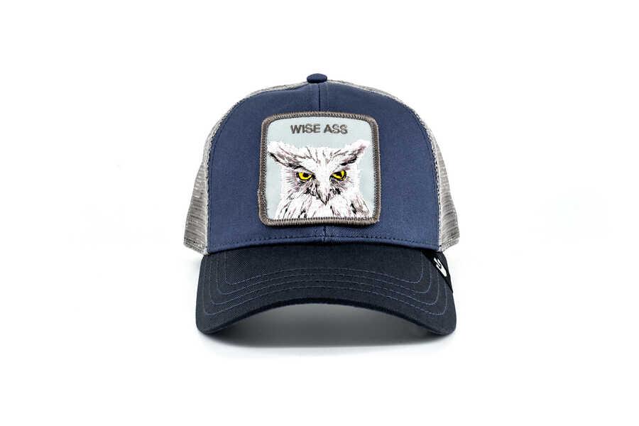 Goorin Bros - Goorin Bros X The Owl (Baykuş) Lacivert Şapka