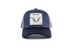 Goorin Bros X The Owl (Baykuş) Lacivert Şapka - Thumbnail