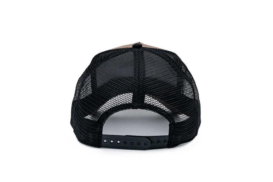 Goorin Bros King (Aslan Figür) Siyah Beyaz Şapka