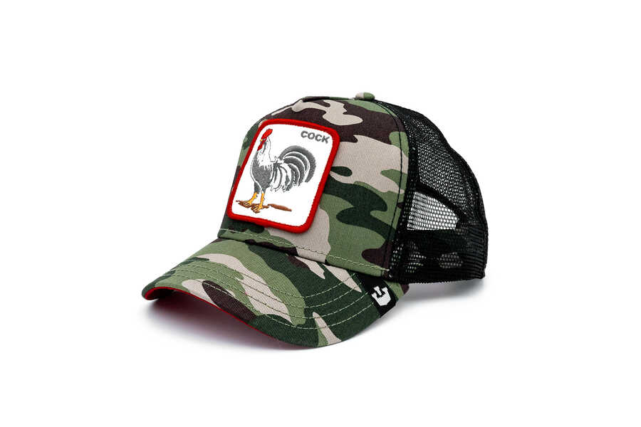 Goorin Bros Rooster (Horoz Figürlü) Siyah Şapka