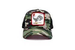 Goorin Bros - Goorin Bros Rooster (Horoz Figürlü) Siyah Şapka (Thumbnail - )