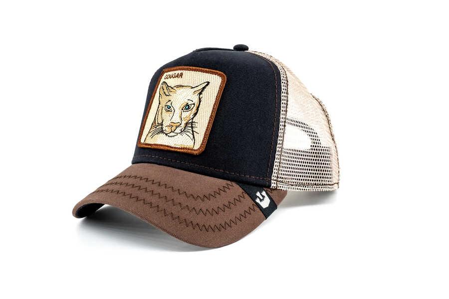 Goorin Bros - Goorin Bros Cougar (Puma Figürlü) Lacivert Şapka (1)