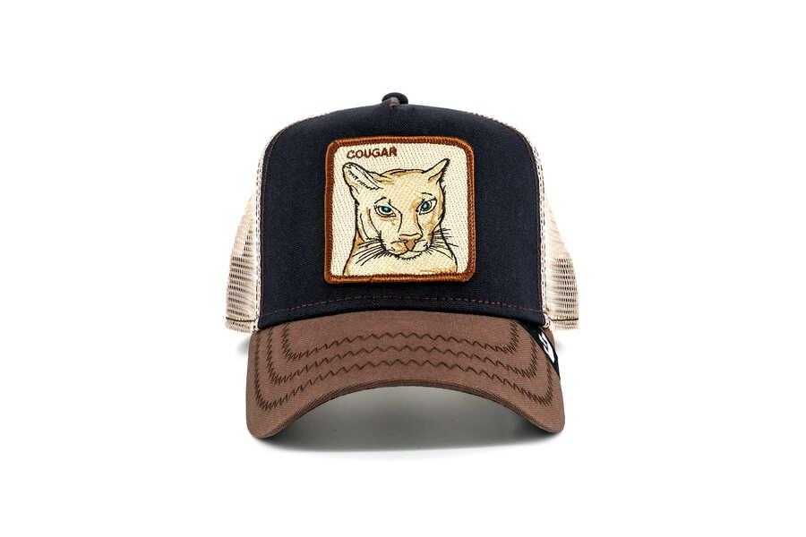 Goorin Bros - Goorin Bros Cougar (Puma Figürlü) Lacivert Şapka