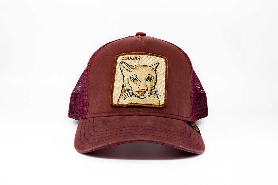 Goorin Bros Cougar (Puma Figürlü) Lacivert Şapka