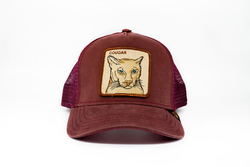 Goorin Bros Cougar (Puma Figürlü) Lacivert Şapka - Thumbnail