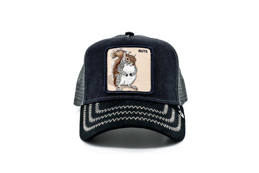 Goorin Bros - Goorin Bros Squirrel Master (Sincap Figürlü) Şapka