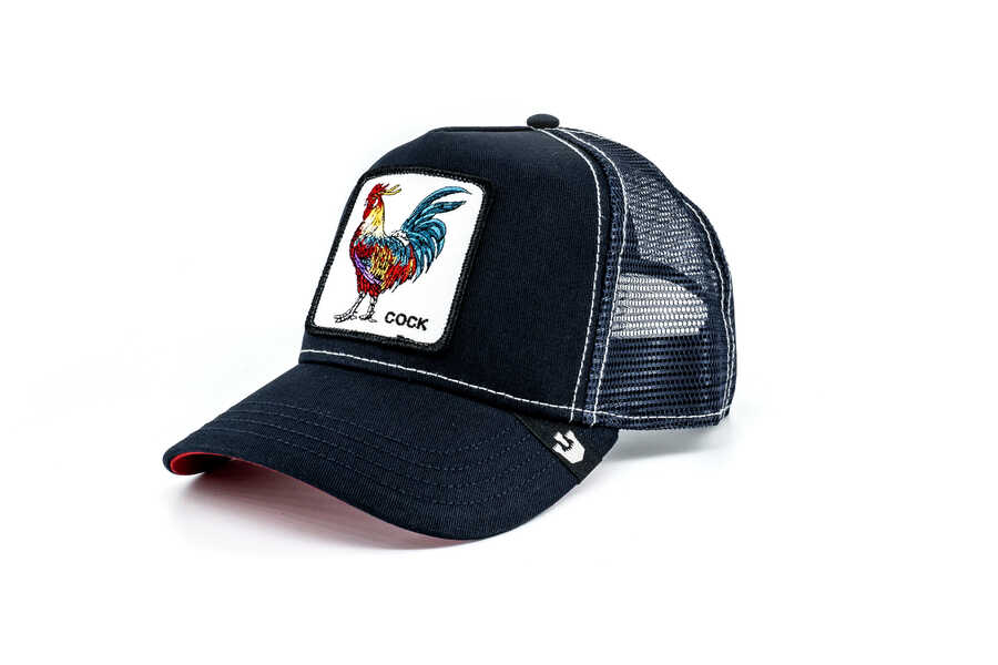 Goorin Bros - Goorin Bros Gallo (Horoz Figür) Lacivert Şapka (1)