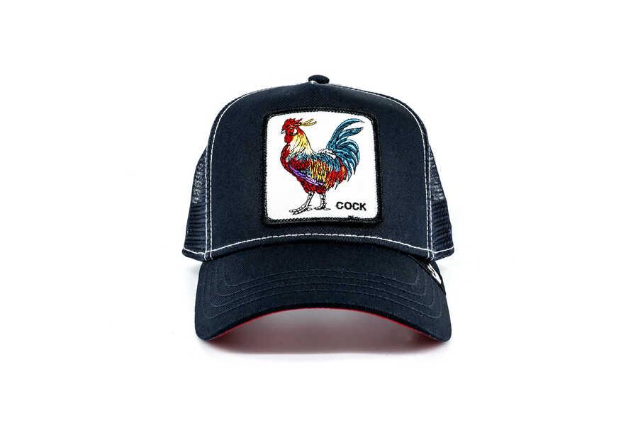 Goorin Bros - Goorin Bros Gallo (Horoz Figür) Lacivert Şapka
