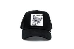 Goorin Bros - Goorin Bros Silver Fox (Tilki Figürlü) Gri Şapka (Thumbnail - )